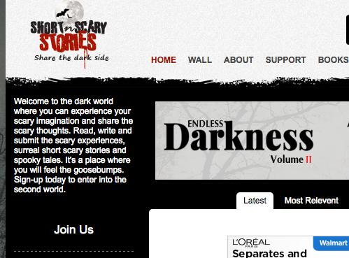 Short 'n' Scary Stories - short horror stories