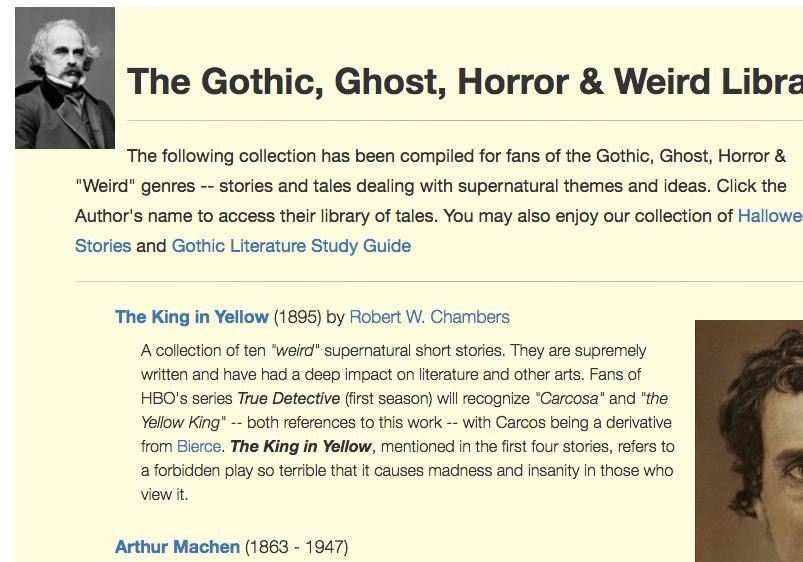 American Literature Poe - short horror stories