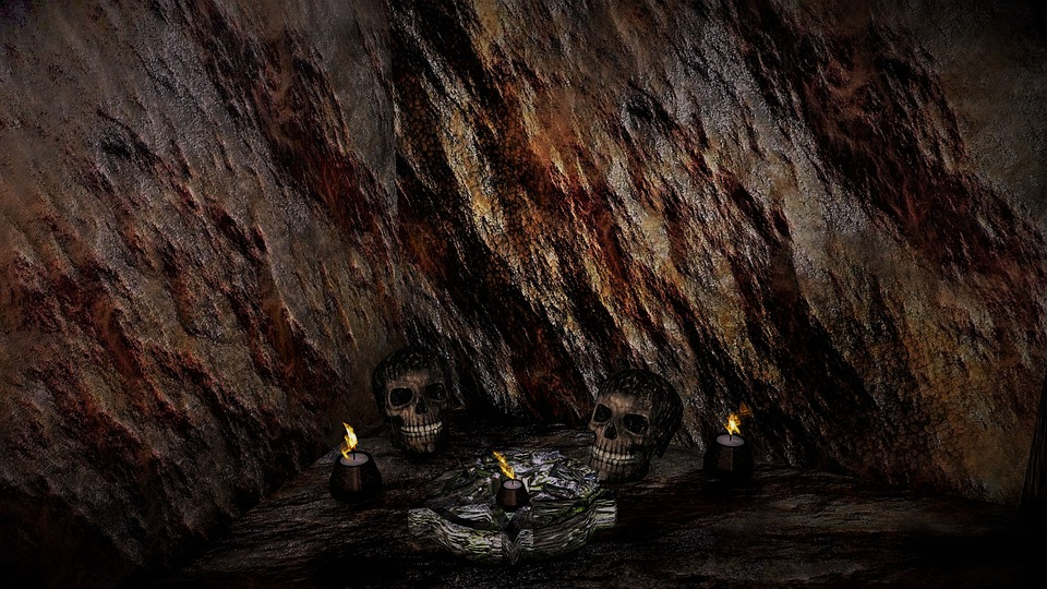 Sawney Bean Cave Painting